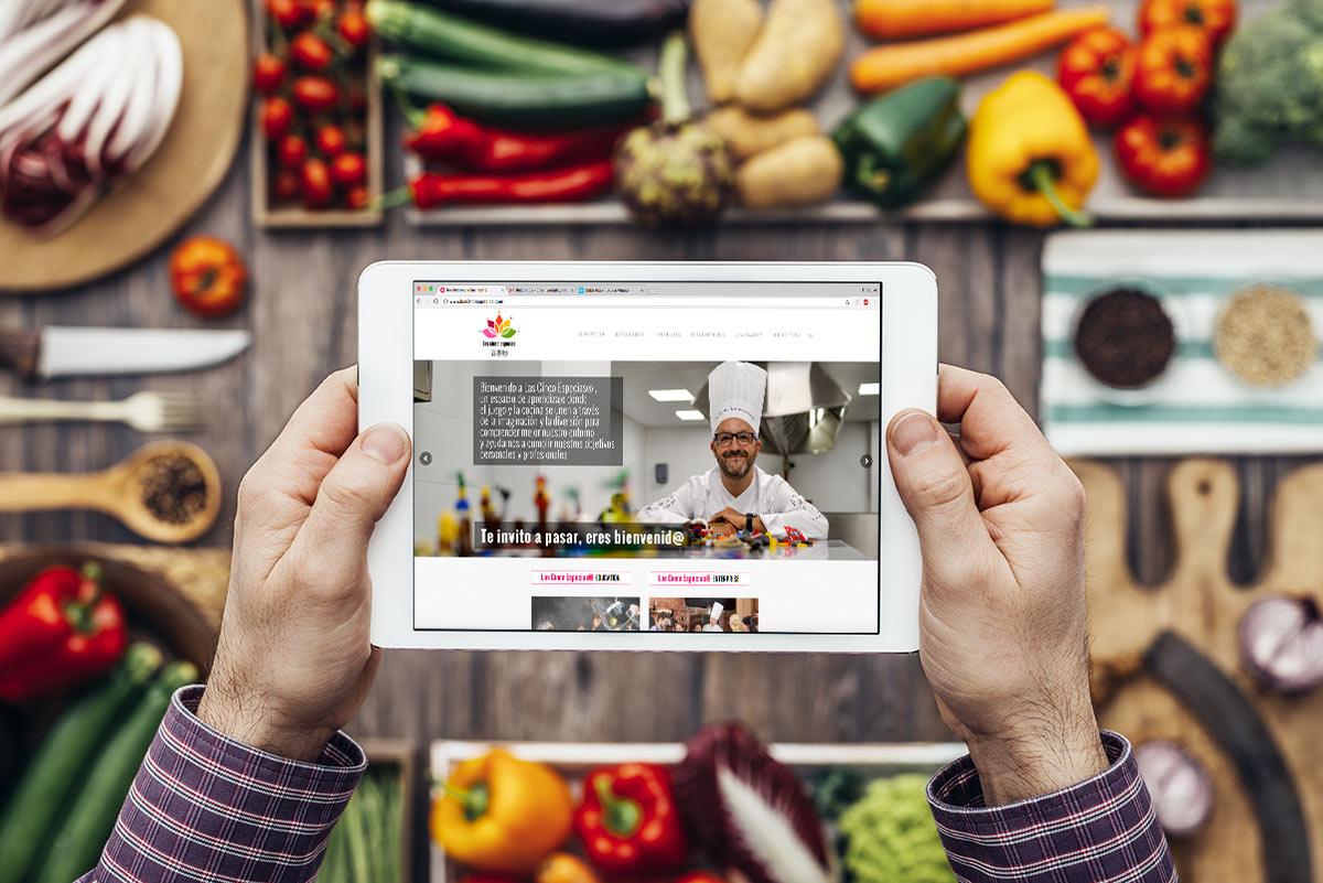 Diseño-web-cocinero